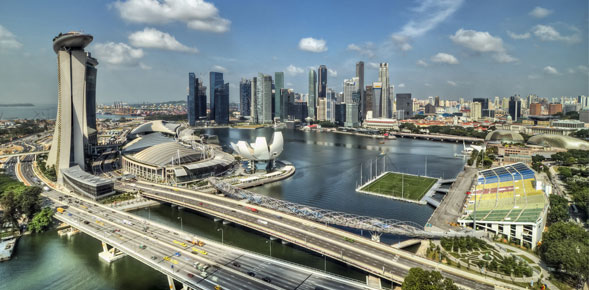 Singapore - a thriving, vibrant and stable country